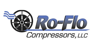 Rotary vane compressors for biogas applications by Ro-Flo are sold by Aircom Technologies, Montreal, Quebec
