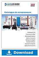 Compressors catalog (french) - Aircom Technologies, Montreal, Quebec