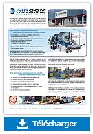 Brochure corporative- Aircom Technologies, Montréal, Québec