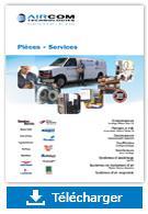 Brochure Pieces et services - Aircom Technologies, Montréal, Québec