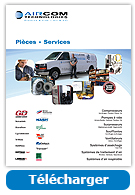 Brochures Pièces & Services - Aircom Technologies, Montréal, Québec