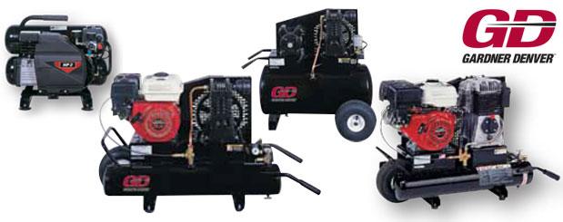 Compresseurs d'air à pistons – CommandAir de Gardner Denver distribué par Aircom Technologies, Montréal, Québec