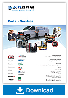 Parts and service brochure - Aircom Technologies, Montreal, Quebec