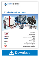 Products and service brochure - Aircom Technologies, Montreal, Quebec