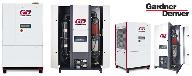 Refrigerated compressed air dryers - RSD Series are sold by Aircom Technologies, Montreal, Quebec. Tel: 514-695-4740