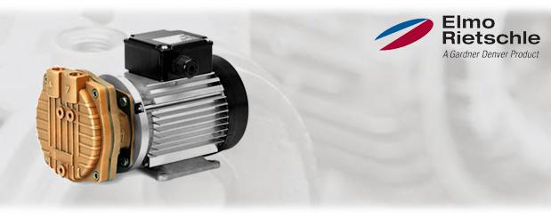 Pompes à vide à anneau liquide - recirculation; aucune, partielle ou complète L-BV3 (L_200) Elmo Rietschle, distribué par Aircom Technologies, Montréal, Québec
