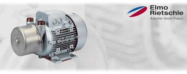 Pompes à vide à anneau liquide - recirculation; aucune, partielle ou complète L-BV2 (L_200) Elmo Rietschle, distribué par Aircom Technologies, Montréal, Québec
