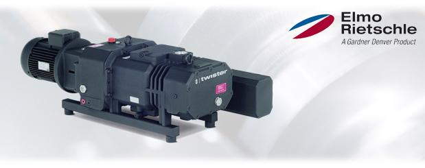 Pompes à vide à vis Série-S, S-VSI 100/300 Elmo Rietschle, distribué par Aircom Technologies, Montréal, Québec