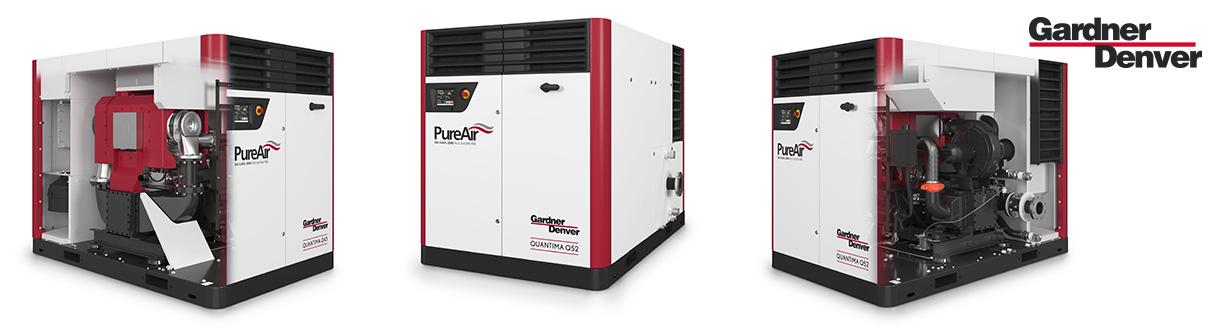 Aircom est le distributeur autorisé et centre de service des compresseurs d'air centrifuge à haute vitesse variable exempt d'huile - 200 à 400 HP - de Quantima pour l'est du Canada. / Aircom Technologies of Montreal, is an authorized distributor & service center of the oil-free, high speed centrifugal compressors Quantima - 320 to 400 HP