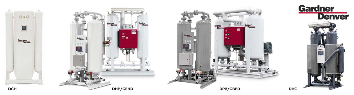 Aircom Technologies de Montréal, Québec, est distributeur autorisé et centre de service des sécheurs d'air dessicatif de Gardner Denver. / Aircom Technologies of Montreal, Quebec, is an authorized distributor and service centre for Gardner Denver's desiccant compressed air dryers series.
