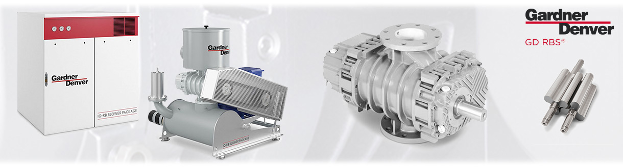 Surpresseurs à déplacement positif tri-lobes - RBS (Robuschi) / Aircom Technologies of Montreal, is an authorised distributor and service center for the RBS (Robuschi) Series - Positive displacement blowers by Gardner Denver