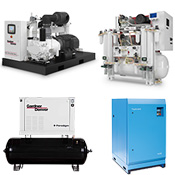 Aircom Technologies of Montreal, Quebec, is an authorized distributor & service center for Gardner Denver, Elmo Rietschle, Hydrovane, RoFlo compressors.