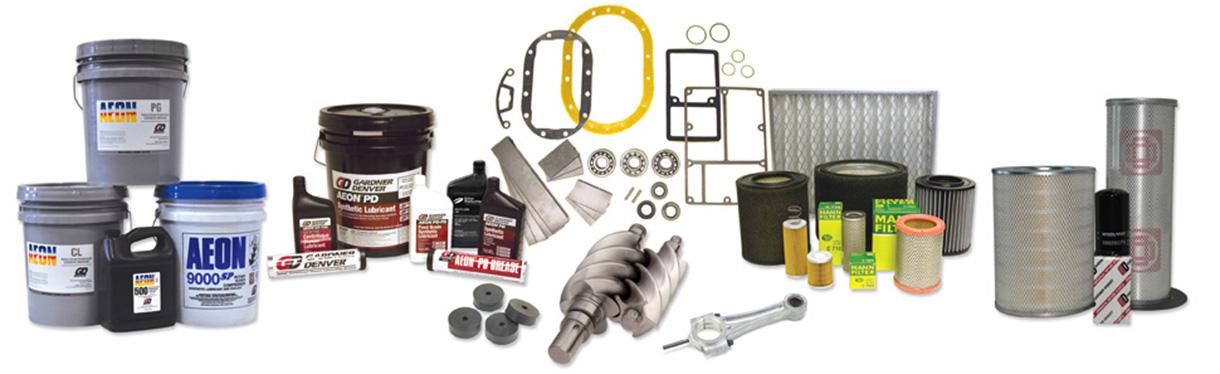 Chez Aircom Technologies, nous tenons un inventaire complet de pièces de rechange pour compresseurs, surpresseurs, pompes à vide, soufflantes