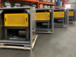 Groupes Sutorbilt 8M avec moteur 75 HP pour usine de biogaz