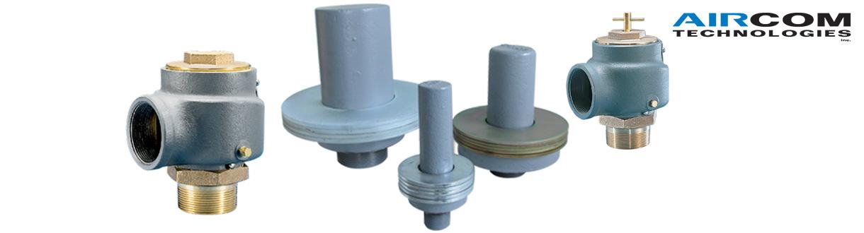 Soupapes de sûreté / Pressure relief valves