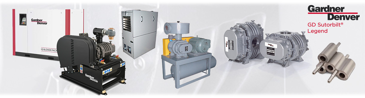 Aircom Technologies of Montreal, is an authorized distributor & service center for Sutorbilt Legend Positive displacement blowers (bi-lobe) for Eastern Canada.