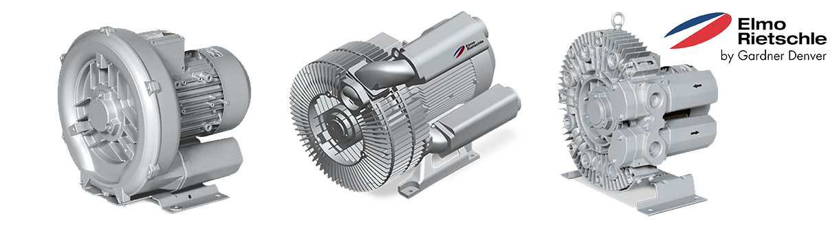 Aircom Technologies of Montreal, Quebec, is an authorized distributor and service center for Elmo Rietschle's - G-Series- Low pressure blowers