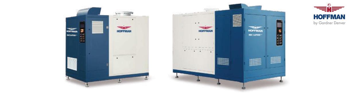 Aircom Technologies de Montréal, Québec, est distributeur autorisé et centre de service des soufflantes centrifuges turbo Hoffman Revolution Plus